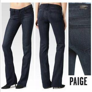 Paige Manhattan Bootcut Jeans Clayton Wash